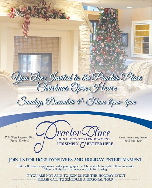 Proctor Place's Annual Holiday Open House