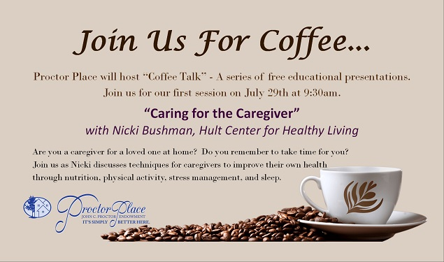 Coffee Talk: Caring for the Caregiver