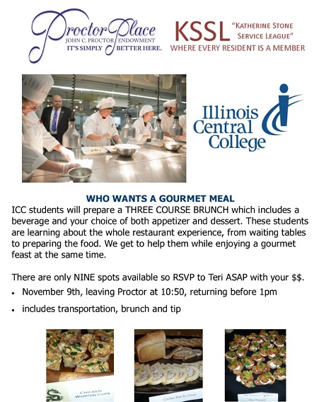 KSSL Outing: ICC Culinary School