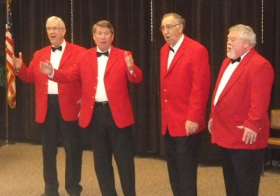 Pride of Peoria Barbershop Quartet