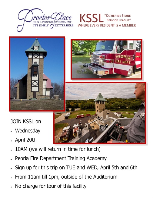 KSSL Trip - Peoria Fire Department Training Academy