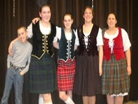 Scottish Highland Dancers
